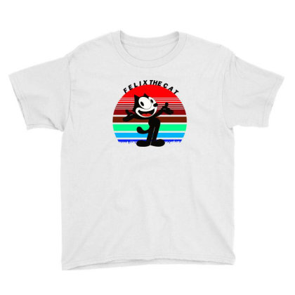 Felix The Cat Youth Tee Designed By Cloudystars