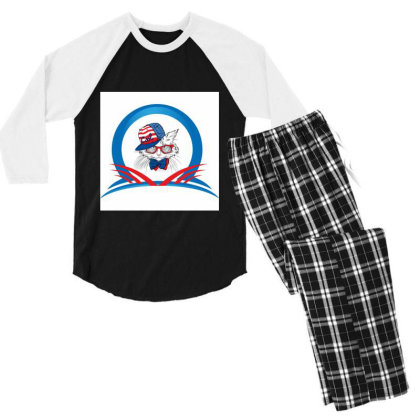 All New For You Men's 3/4 Sleeve Pajama Set Designed By Sunil Kumar