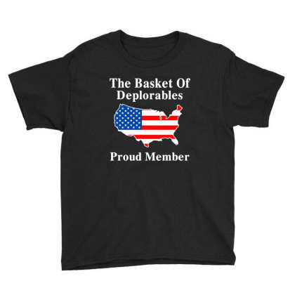 The Basket Of Deplorables Youth Tee Designed By Alaska Tees