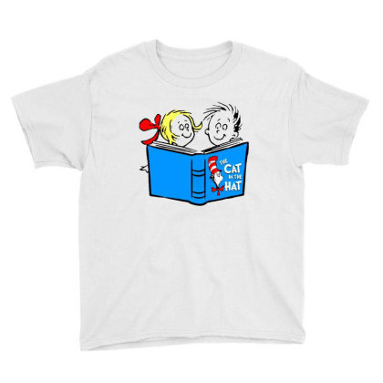 The Cat In The Hat Youth Tee Designed By Alaska Tees