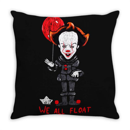 We All Float Throw Pillow Designed By Alaska Tees