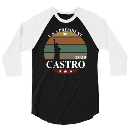 Julian Castro 2020 3/4 Sleeve Shirt Designed By Cloudystars