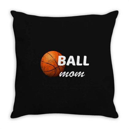 Ball Mom Throw Pillow Designed By Bettercallsaul