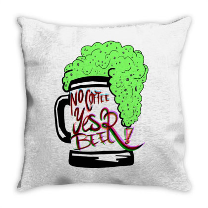 Beer Yes Throw Pillow Designed By Mysticalbrain
