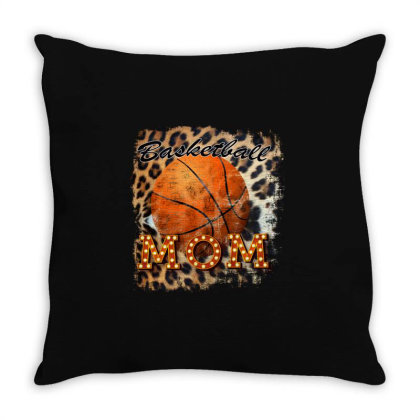 Basketball Mom Throw Pillow Designed By Bettercallsaul