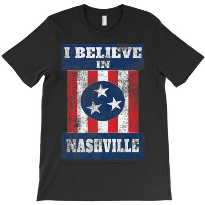 Tornado Nashville Strong I Believe In Tennessee T-shirt Designed By Kakashop