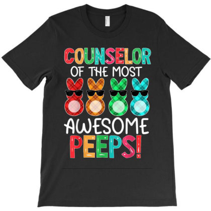 Counselor Of The Most Awesome Peeps T-shirt Designed By Kakashop