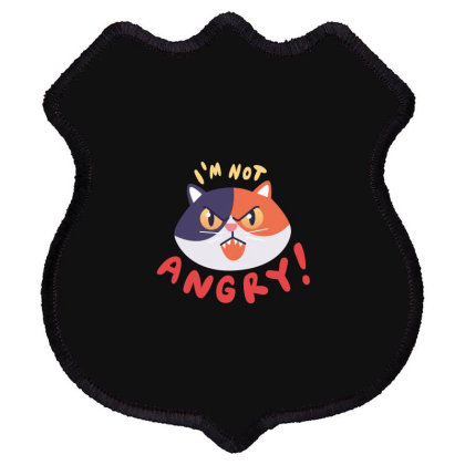 I'm Not Angry Shield Patch Designed By Estore