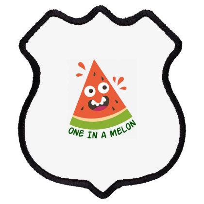 One In A Melon Shield Patch Designed By Estore