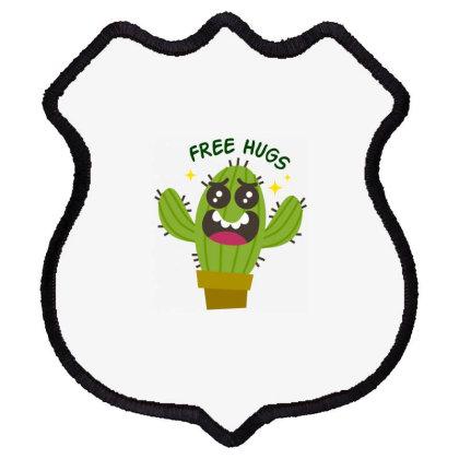 Free Hugs Shield Patch Designed By Estore