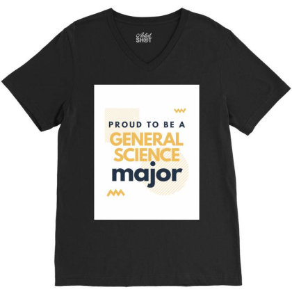 General Science V-neck Tee Designed By Narella