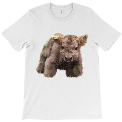 Cute Cow Farm Animals T-shirt Designed By Hoainv