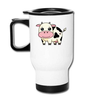 Dairy Cows Chibi Cute Travel Mug Designed By Hoainv