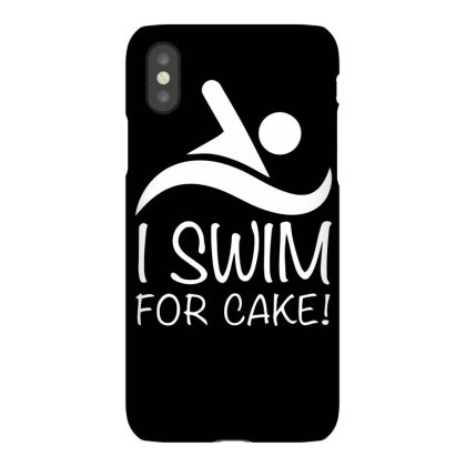 I Swim For Cake Iphonex Case Designed By Farrel T-shirt