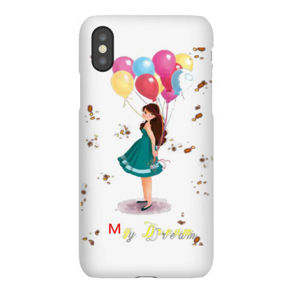 Dream Lady Iphonex Case Designed By Rajkumar9936