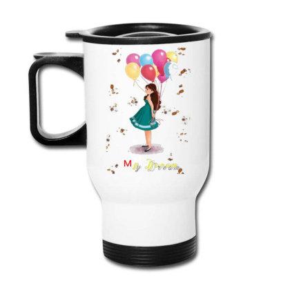 Dream Lady Travel Mug Designed By Rajkumar9936
