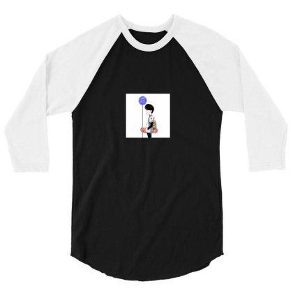 Wait 3/4 Sleeve Shirt Designed By Articc