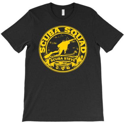 Scuba Steve Scuba Squad T-shirt Designed By Fanshirt