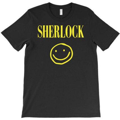 Sherlock Holmes Smiley Face T-shirt Designed By Fanshirt