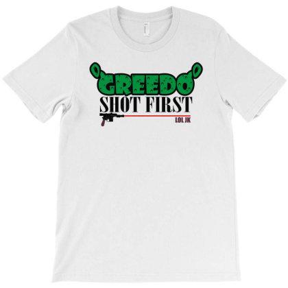 Shot First Jk T-shirt Designed By Fanshirt