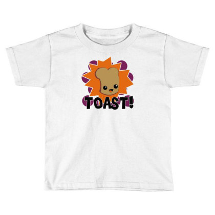 Toast Fresh Toddler T-shirt Designed By Farrel T-shirt