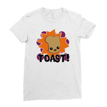 Toast Fresh Ladies Fitted T-shirt Designed By Farrel T-shirt