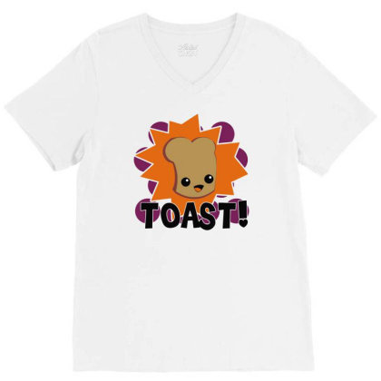 Toast Fresh V-neck Tee Designed By Farrel T-shirt