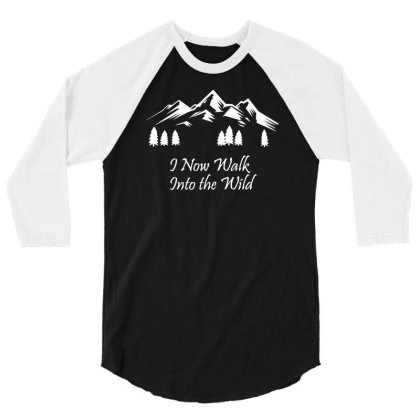 Into The Wild 3/4 Sleeve Shirt Designed By Farrel T-shirt