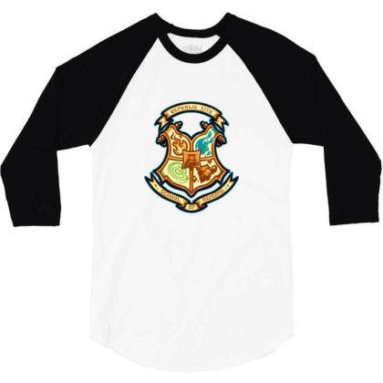 Republic School Of Bending 3/4 Sleeve Shirt Designed By Sr88