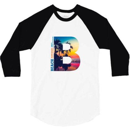B Palm Beach 3/4 Sleeve Shirt Designed By Sengul