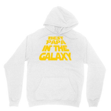 Best Papa In The Galaxy Unisex Hoodie Designed By Cuser3143