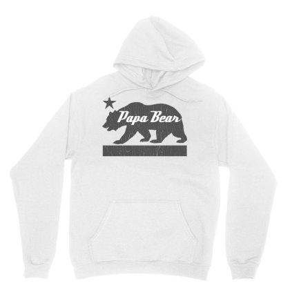 California Bear Family Papa Bear Unisex Hoodie Designed By Cuser3143