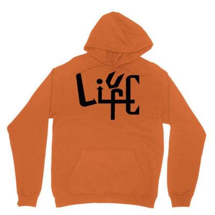 Cool Live Life Design T-shirt Unisex Hoodie Designed By Anshgaur