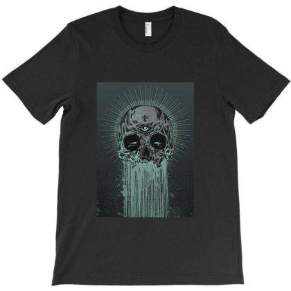 Agrawatya Agraworks Green Skull Ngacay T-shirt Designed By Linda