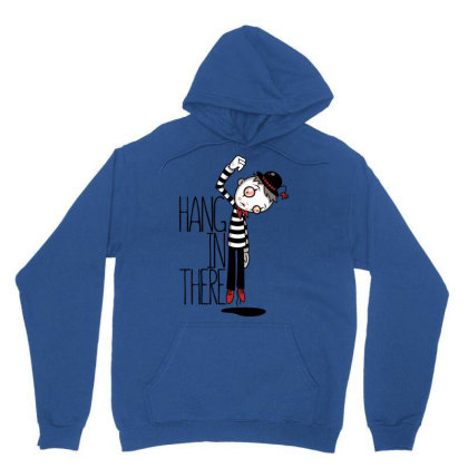 Hang In There Mime Unisex Hoodie Designed By Fizzgig
