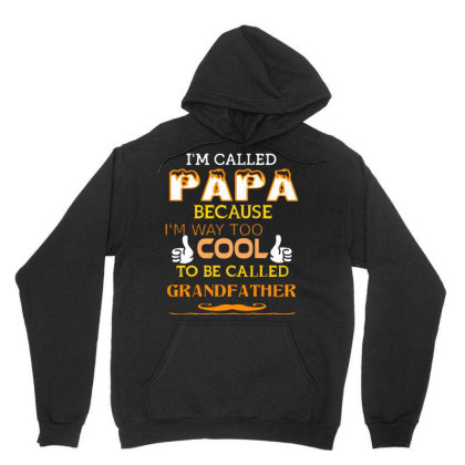 Cool Enough To Be Called Papa T Shirt Unisex Hoodie Designed By Cuser3143