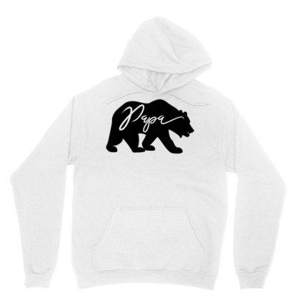 Cool Papa Bear T Shirt Unisex Hoodie Designed By Cuser3143