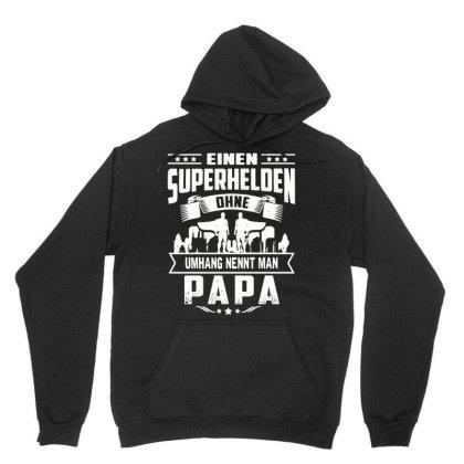 Einen Superhelden Papa T Shirt Unisex Hoodie Designed By Cuser3143
