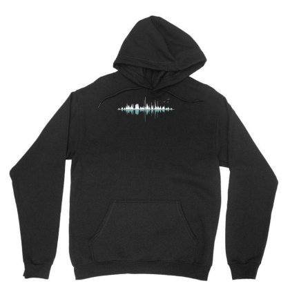 Music City (clear Graphic) Unisex Hoodie Designed By Ika