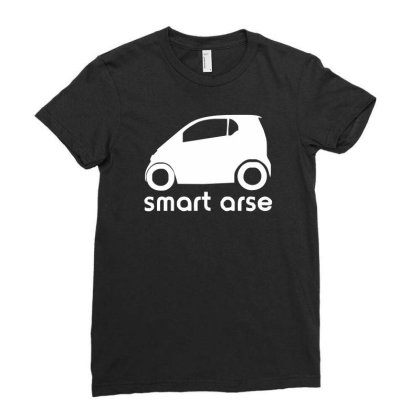Smart Arse Ladies Fitted T-shirt Designed By Lyly