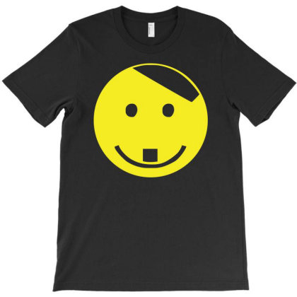 Smiley Face Adolf Hitler T-shirt Designed By Lyly