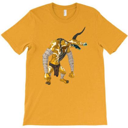 Golden Moblin T-shirt Designed By Badprisoner05