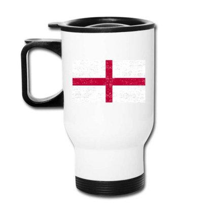 England Flag , St George's Cross Flag Travel Mug Designed By Alamy