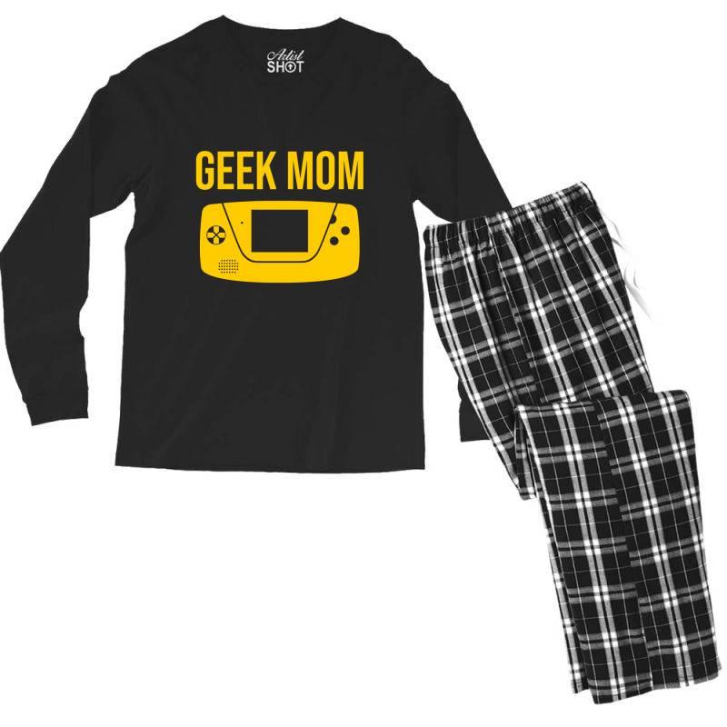 Geek Moms Men's Long Sleeve Pajama Set | Artistshot