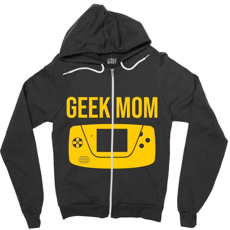 Geek Moms Zipper Hoodie | Artistshot