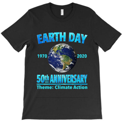 Earth Day 50th Anniversary T-shirt Designed By Kakashop