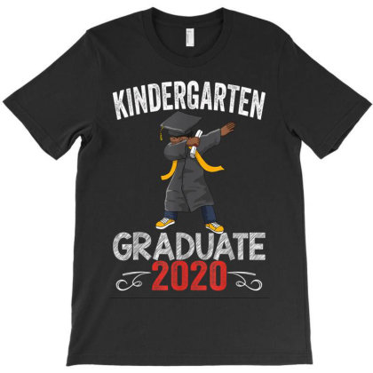 Dabbing African American Graduation T-shirt Designed By Kakashop