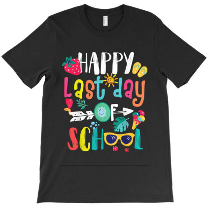 Happy Last Day Of School Teacher Student Graduation T-shirt Designed By Kakashop