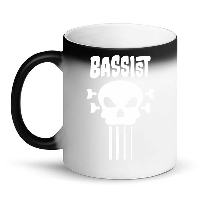 Bassist Skull Magic Mug | Artistshot