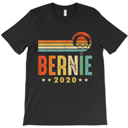 Vintage Bernie Sanders For President 2020 T-shirt Designed By Kakashop